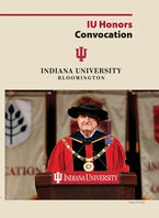 2017 Honors Convocation at Indiana University