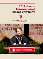 2018 Honors Convocation at Indiana University