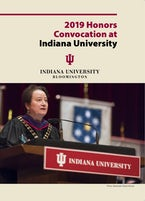 2019 Honors Convocation at Indiana University