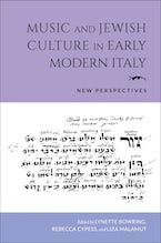 Music and Jewish Culture in Early Modern Italy