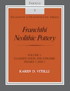 Franchthi Neolithic Pottery, Volume 1