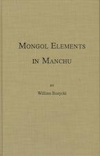 Mongol Elements in Manchu